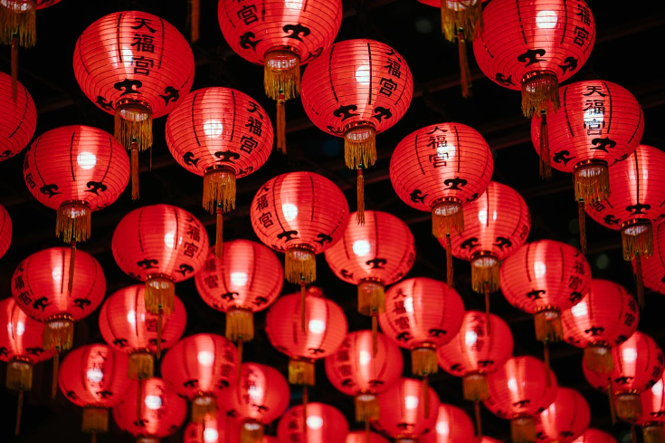 Chinese New Year Lantern Decorations