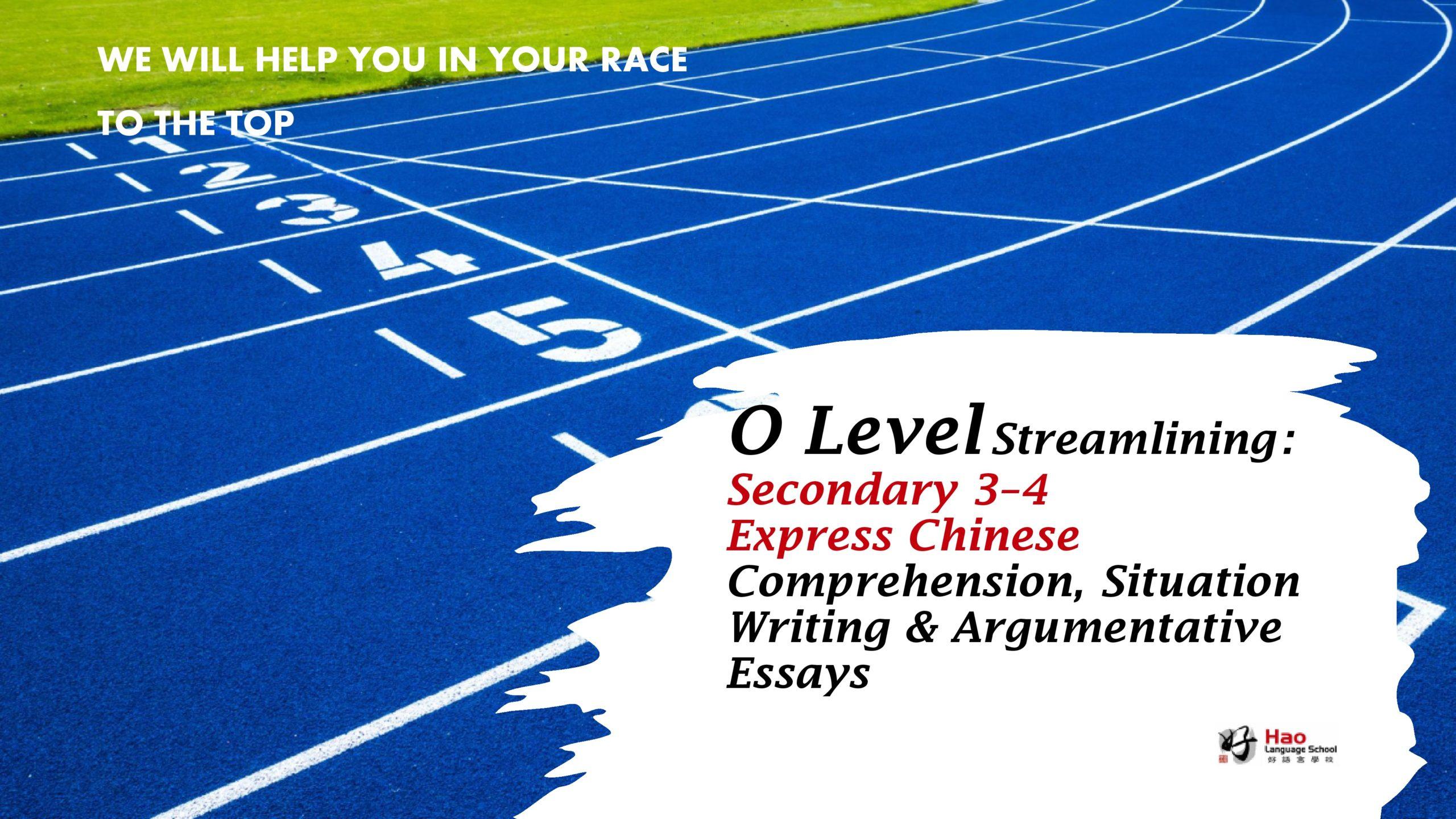 O Level Crash Course CL Promotional Picture