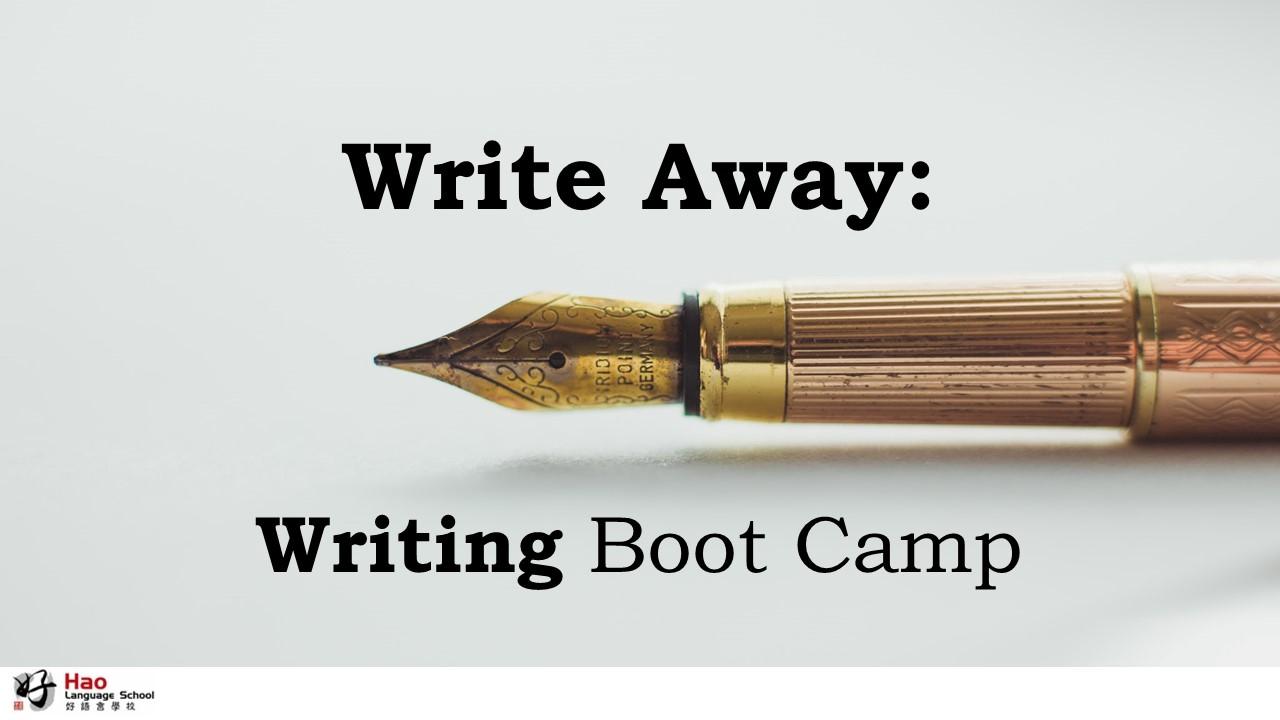Chinese Writing Boot Camp