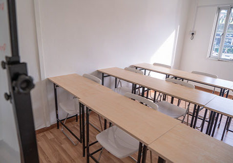 Hao Language Centre Facilities: Well-lit Classroom